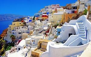 Santorin-Grèce