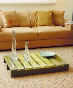 table-basse-en-vert-pour-votre-salon