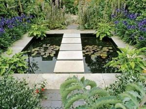 Amnagement Paysager Moderne 104 Ides De Jardin Design concernant Idee Amenagement Bassin Exterieur